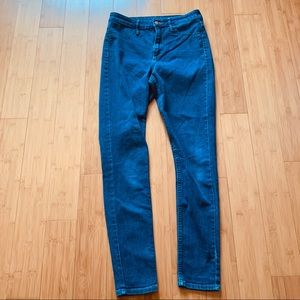 Denim - & Denim High Waisted Skinny Jeans